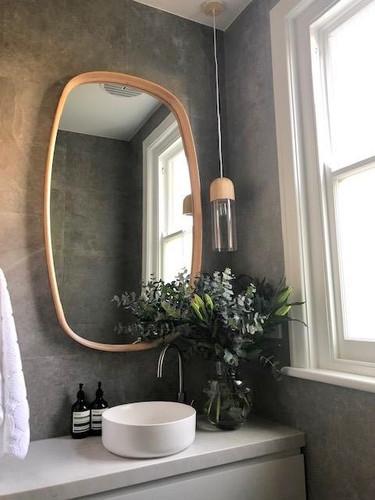 Bridgette Mirror over vanity