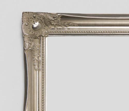 Empty Contessa Frame Silver