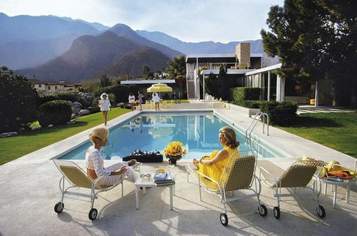 Poolside Glamour by Slim Aarons