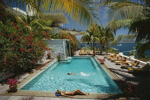 Pool At Las Hadas | Slim Aarons | Print Decor