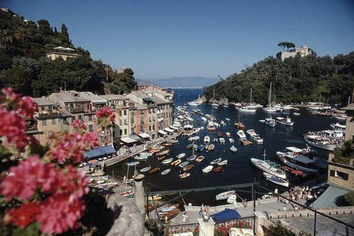 Harbour Area Portofino | Slim Aarons