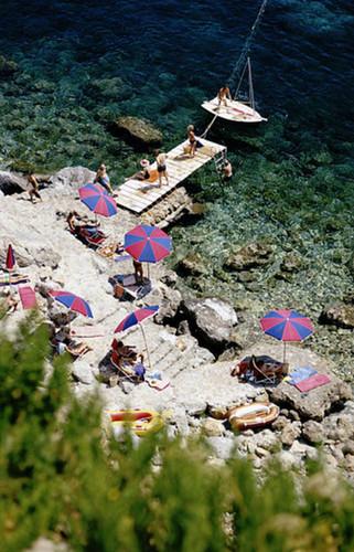 Porto Ercole Cove | Slim Aarons | Print Decor