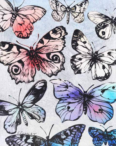 Butterflies by David Bromley
