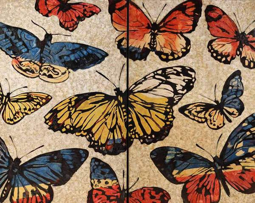 Lacquered Butterflies by David Bromley