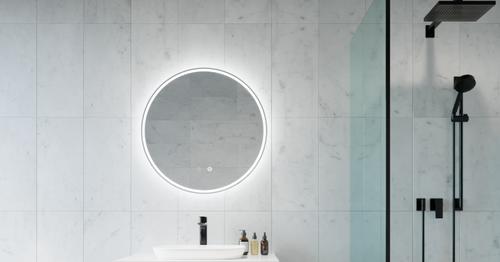 Sphere Back Lit Mirror | In Situ | Print Decor