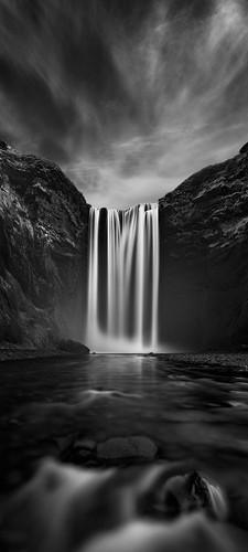 Photography | Skogafoss |  Wide Format | by Nick Psomiadis