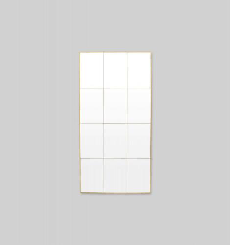 Loft Brass Mirror | 90 x 180cm