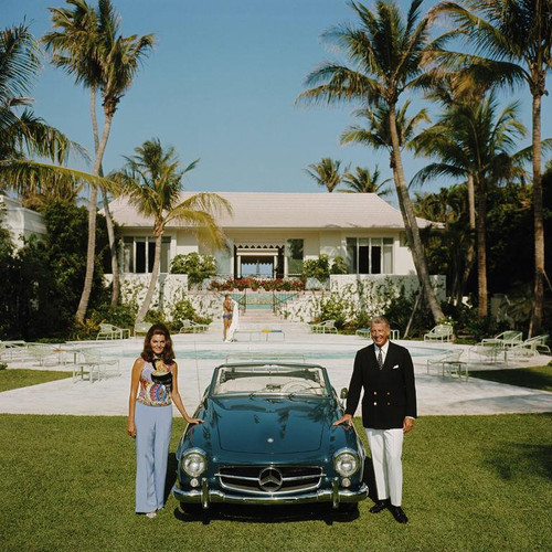 The Fullers | Slim Aarons