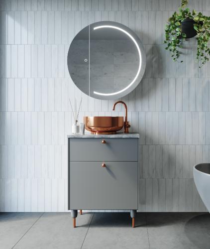 Pearl Mirror Cabinet | Print Decor
