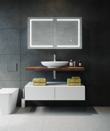 Vera Mirror Cabinet | Print Decor