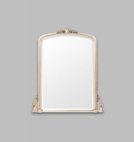Classic Arch Mirror Silver 133 x 160 cm