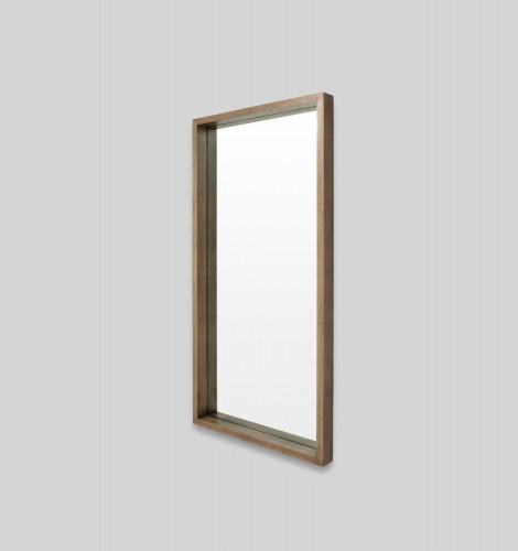 Hazel Wood Leaner Mirror