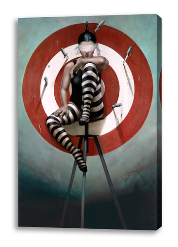 Print Decor | Gill Del Mace | The Knife Thrower | Canvas Print
