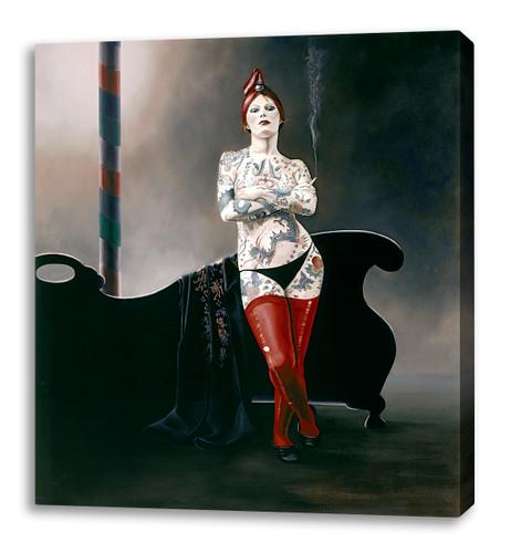 Print Decor | Gill Del Mace | The Tattoo Queen | Canvas Print