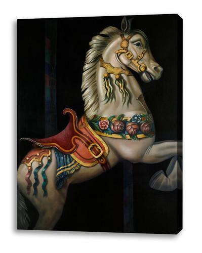Print Decor | Gill Del Mace | Carousel Horse | Canvas Print