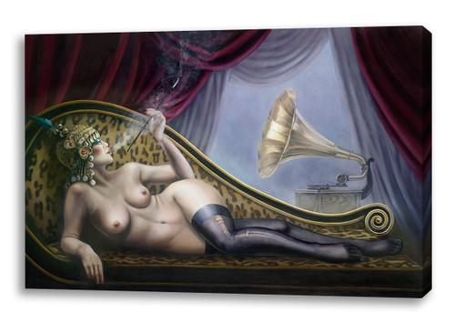 Print Decor | Gill Del Mace | The Courtesan | Canvas Print
