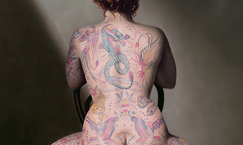 New release from Gill Del-Mace - The Tattoo Queen III