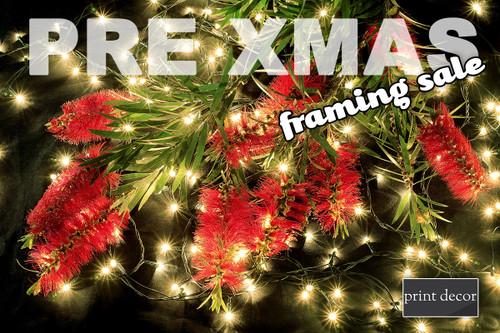 Pre Christmas Framing Sale
