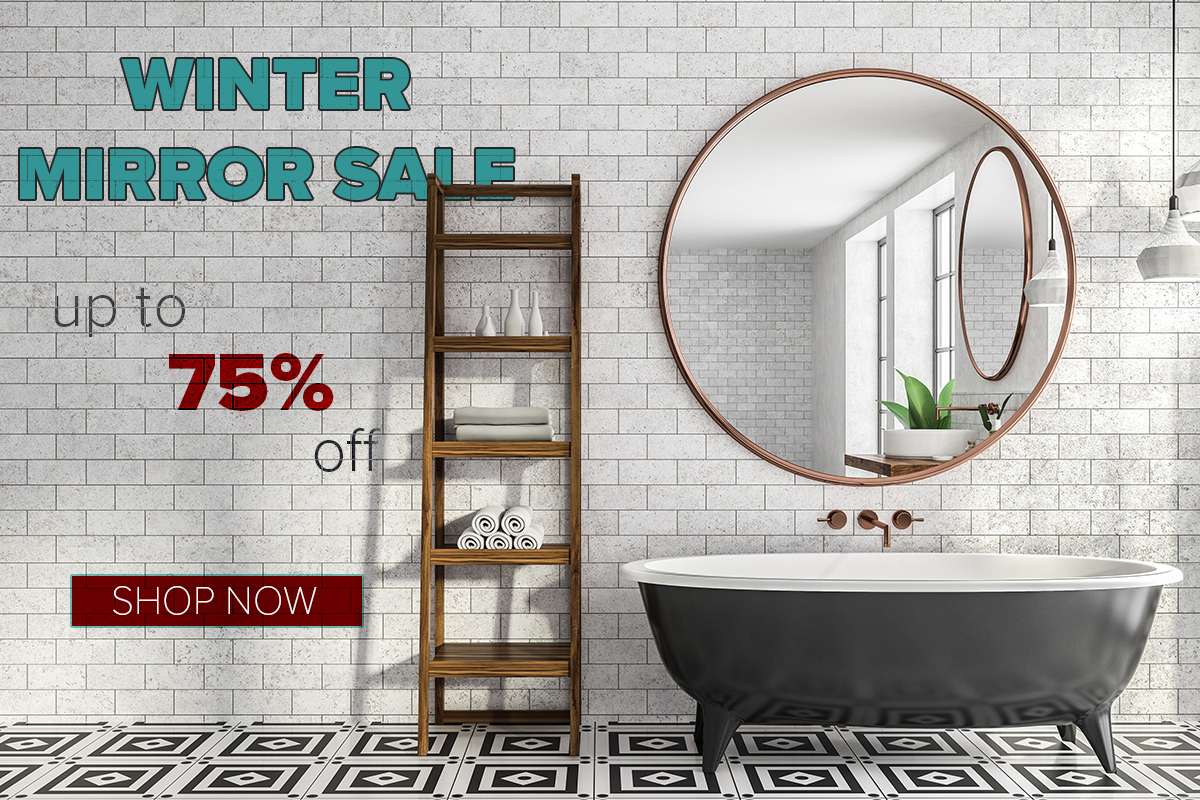 Winter Mirror Sale