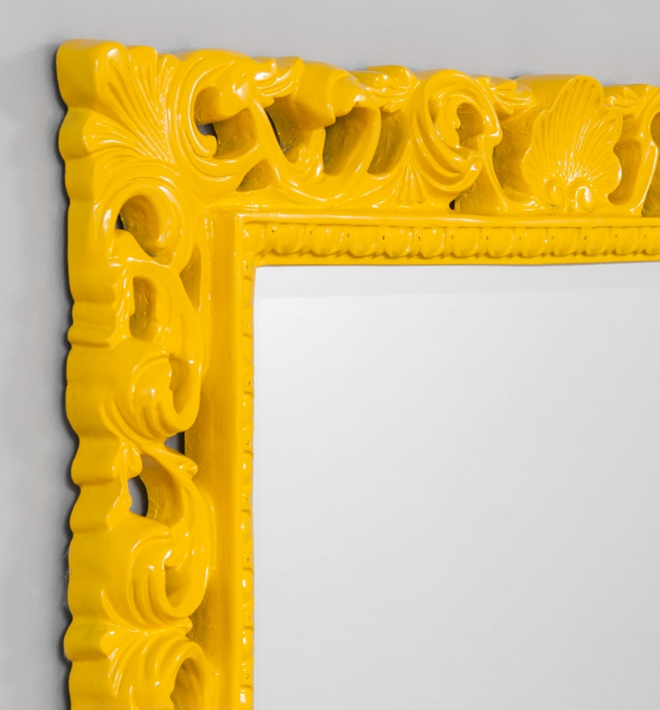 Brightly coloured framed mirror, Print Decor, Melbourne