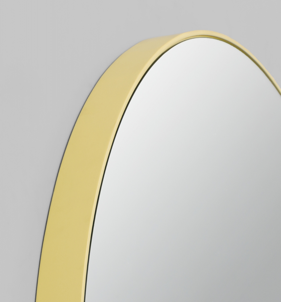 Modern Yellow Circular Picture Frame Melbourne