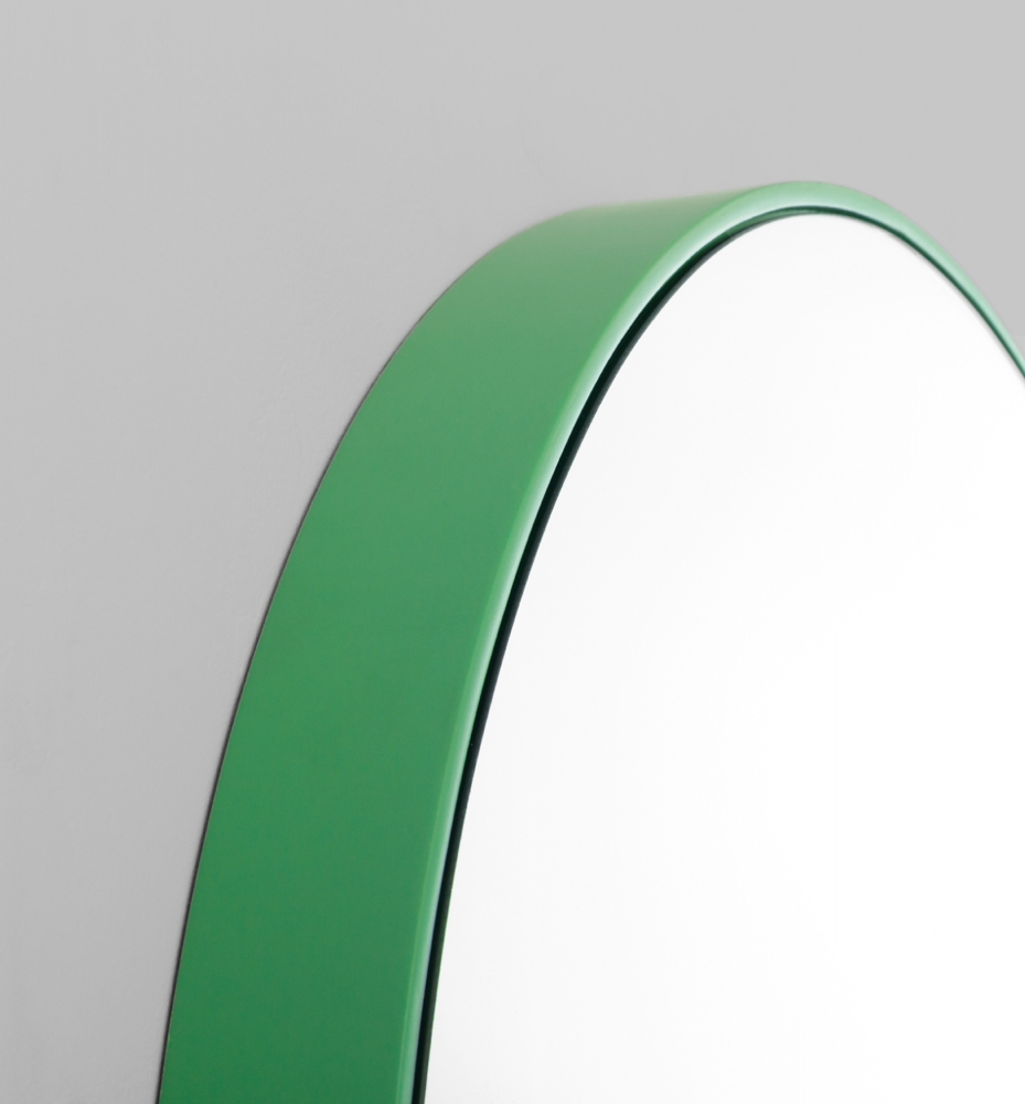 Modern Green Circular Picture Frame Melbourne