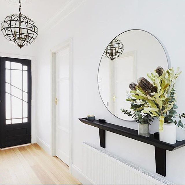 Interior with Middle of Nowhere Designer Mirror