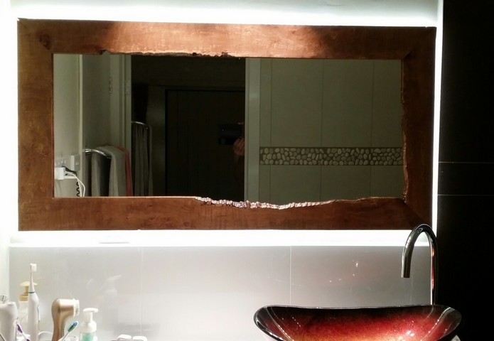 Tasmanian Hardwood Mirror Frame