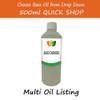 500ml Base/Carrier Massage Oil - Choose Variety