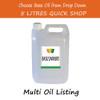 5 Litre Base/Carrier Massage Oil - Choose Variety