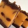CHOCOLATE ORANGE HAND MADE VEGAN OPEN AIR SOAP 100G