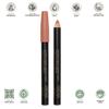 Certified Organic Lipstick Crayon (Tan Nude) 3g