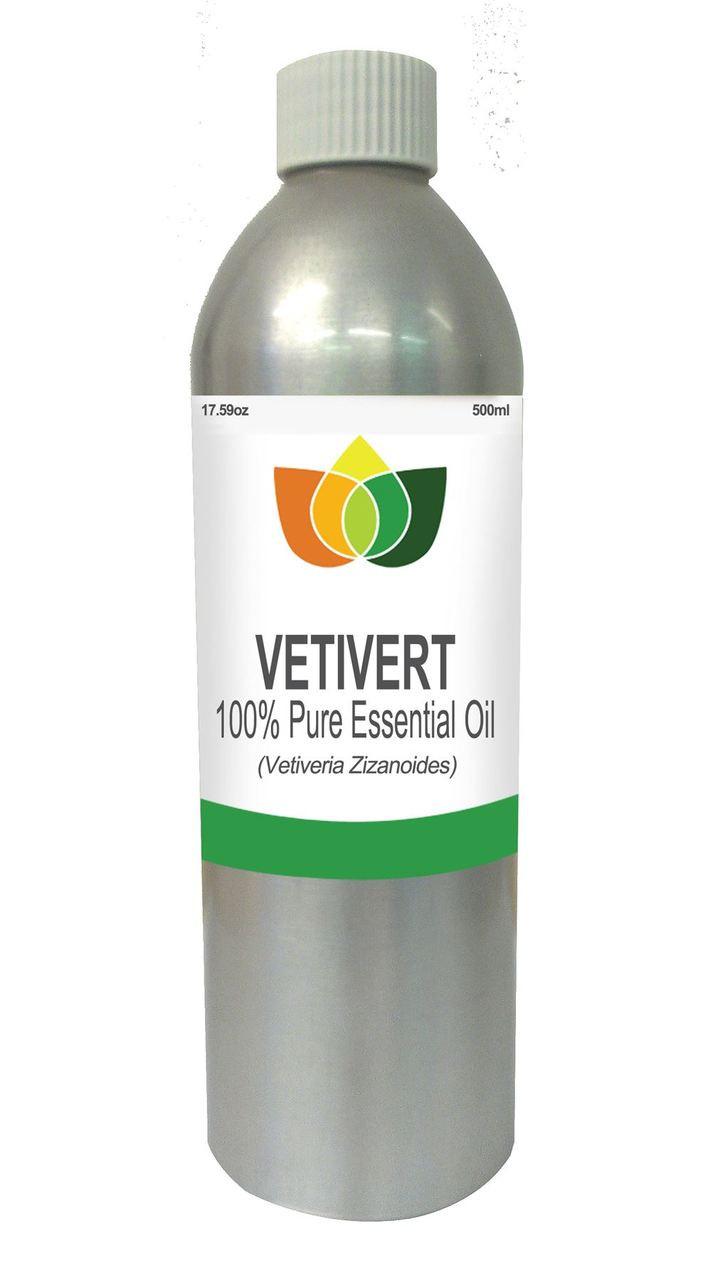 Vetivert Essential Oil Pure, Natural, Vegan Vetiveria Zizanoides