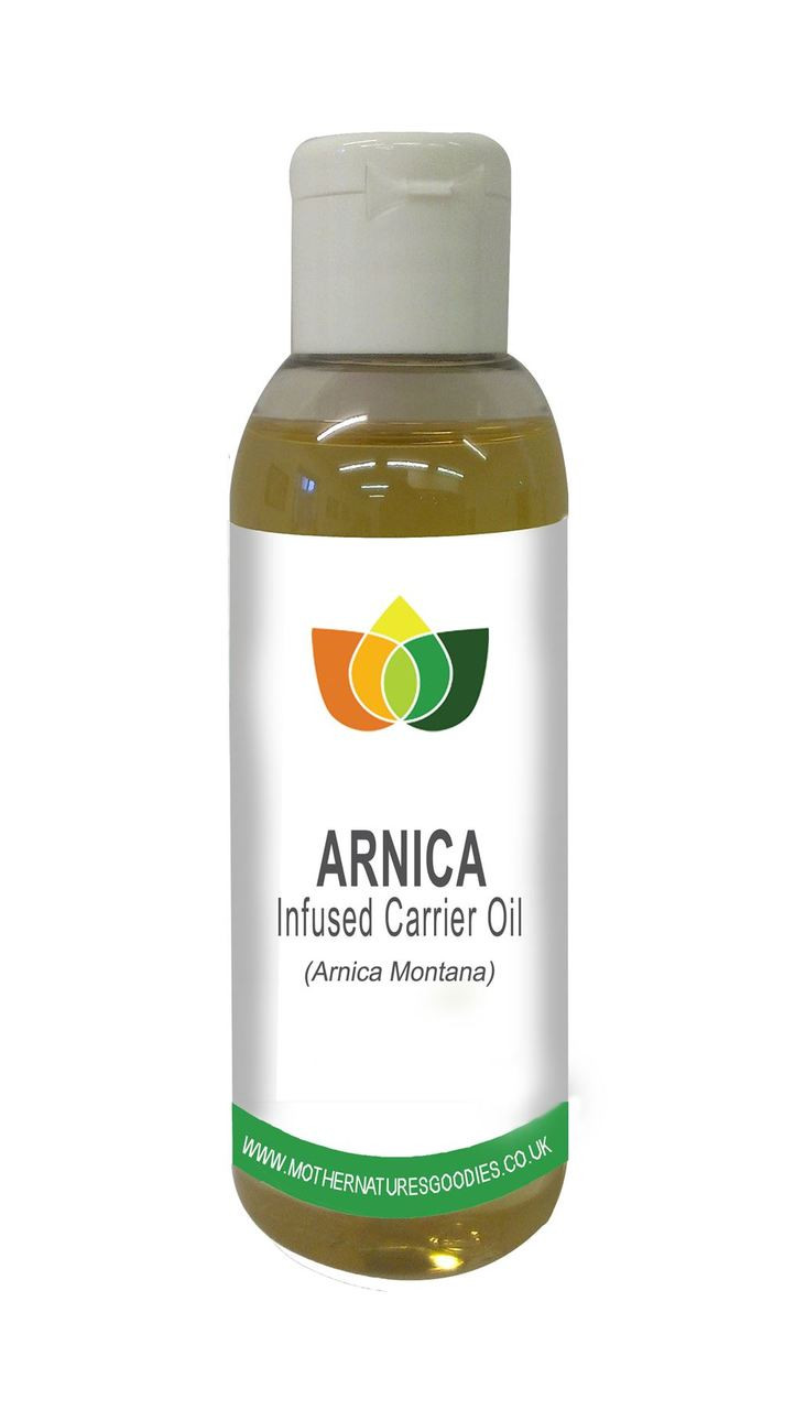 Arnica Oil Natural Massage Carrier Base Herbal Infusion Bruising Muscle Aches