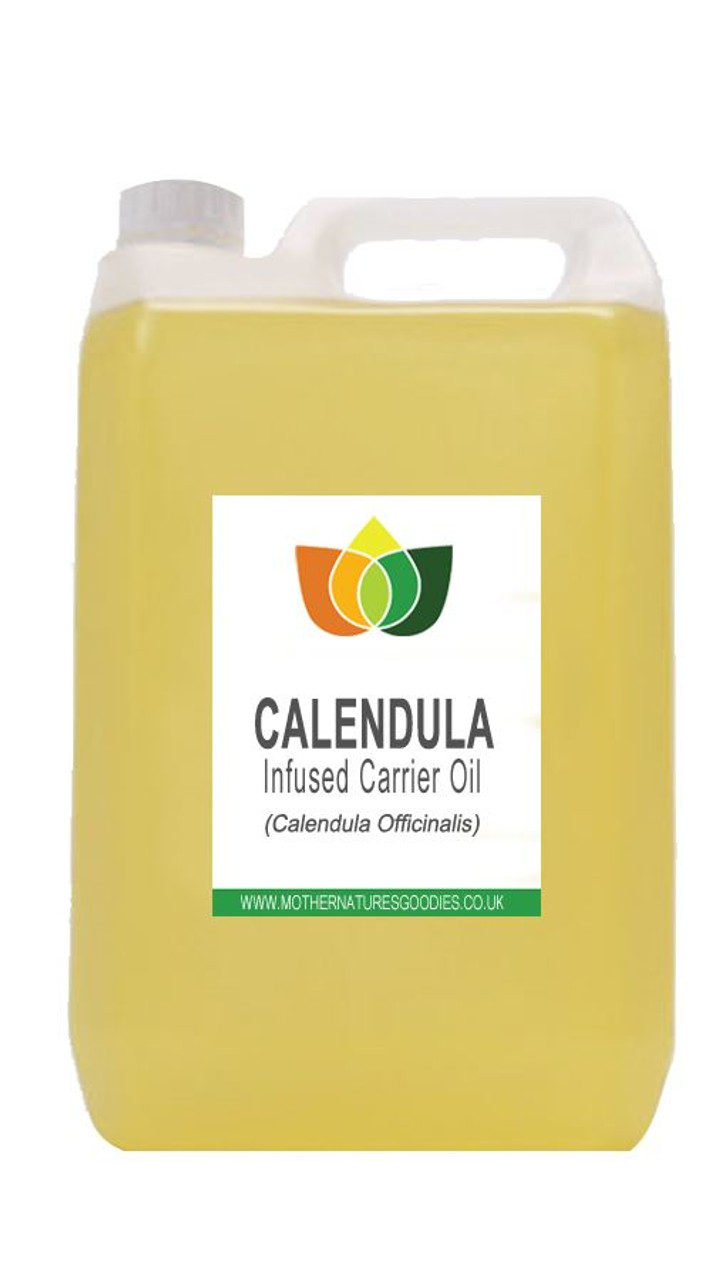 Calendula Oil Infused Pure Natural Carrier Base Massage Aromatherapy Oil