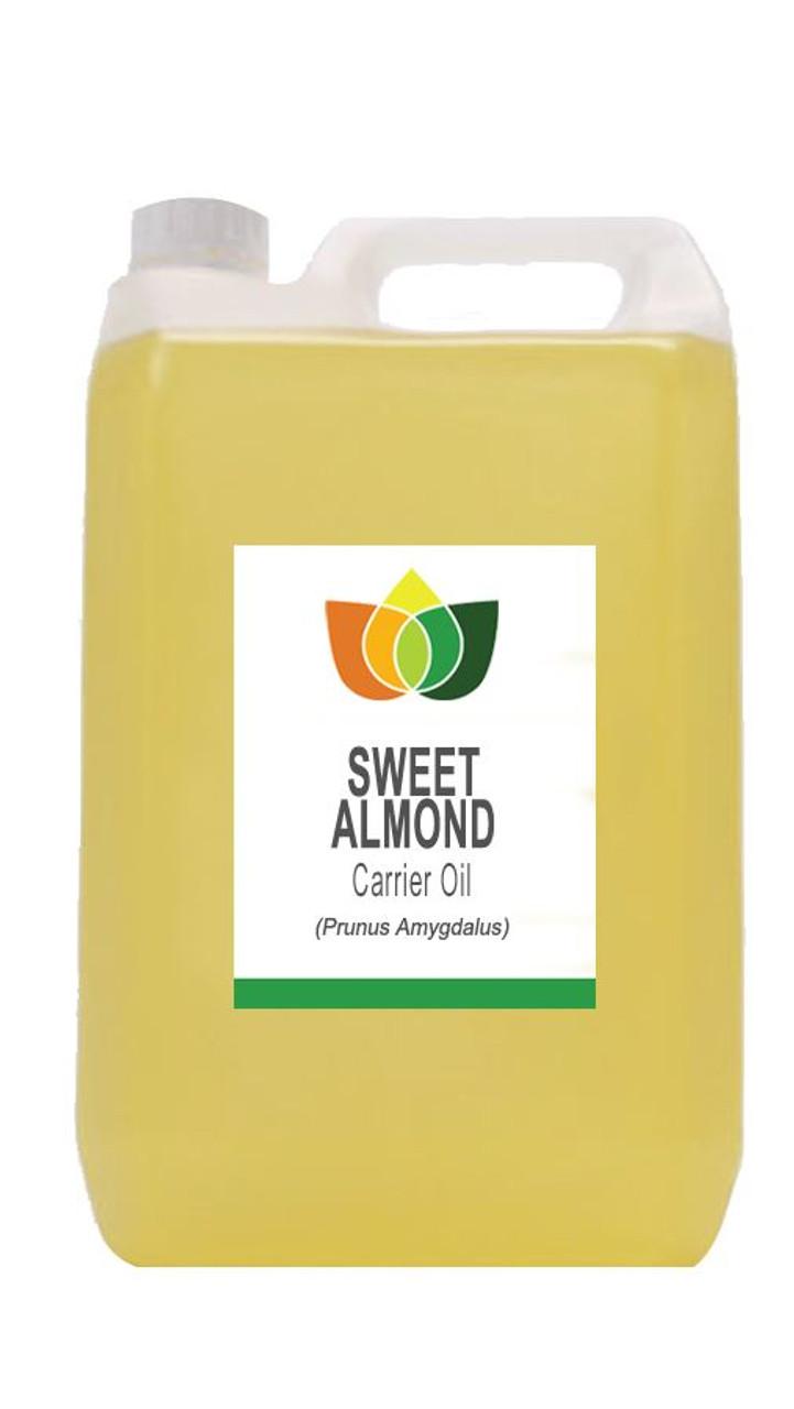 SWEET ALMOND OIL (Prunus Amygdalus Dulcis) Cold Pressed Carrier