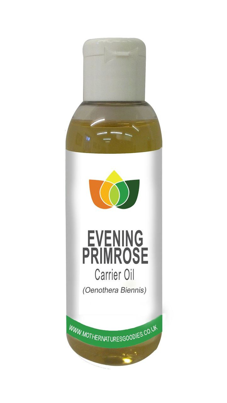 Evening Primrose Oil Cold Pressed Natural Massage Carrier Base Aromatherapy