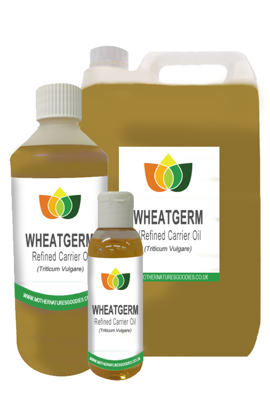 WHEATGERM OIL REFINED Vegan - Cold Pressed (Massage Carrier Base Aromatherapy)