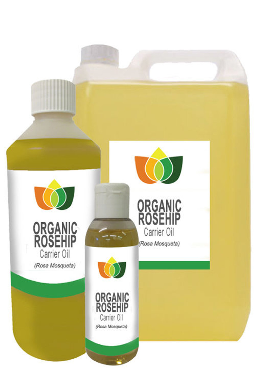 Rosehip Seed Oil Organic Pure Natural Authentic Carrier Massage Aromatherapy