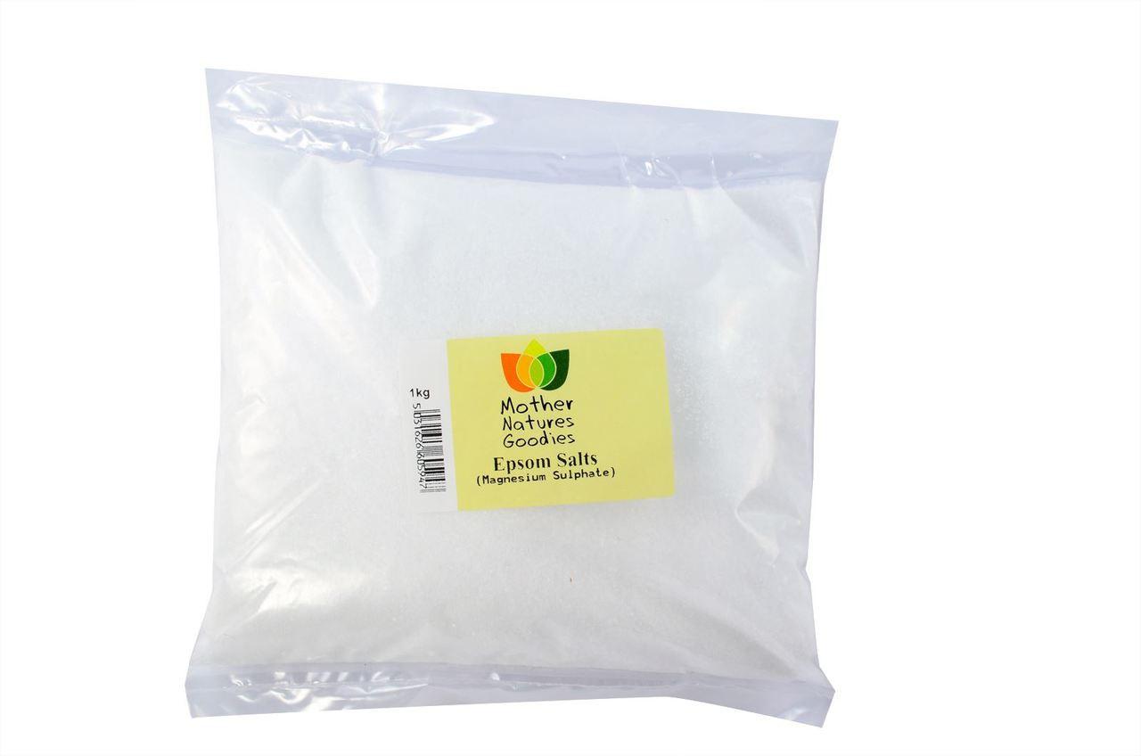 EPSOM SALTS COARSE (Magnesium Sulphate) BP Food Grade 100% Pure