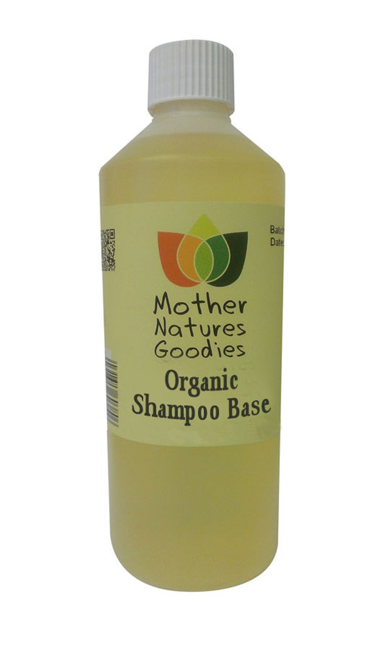 ORGANIC SHAMPOO Fragrance Free Base - SLS Free Mild Gentle Add Essential Oil