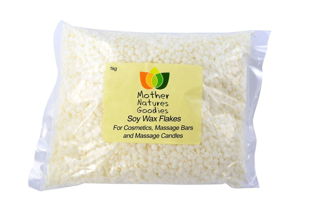 Soy Wax Flakes for Cosmetics, Massage Bars and Massage Candles C3