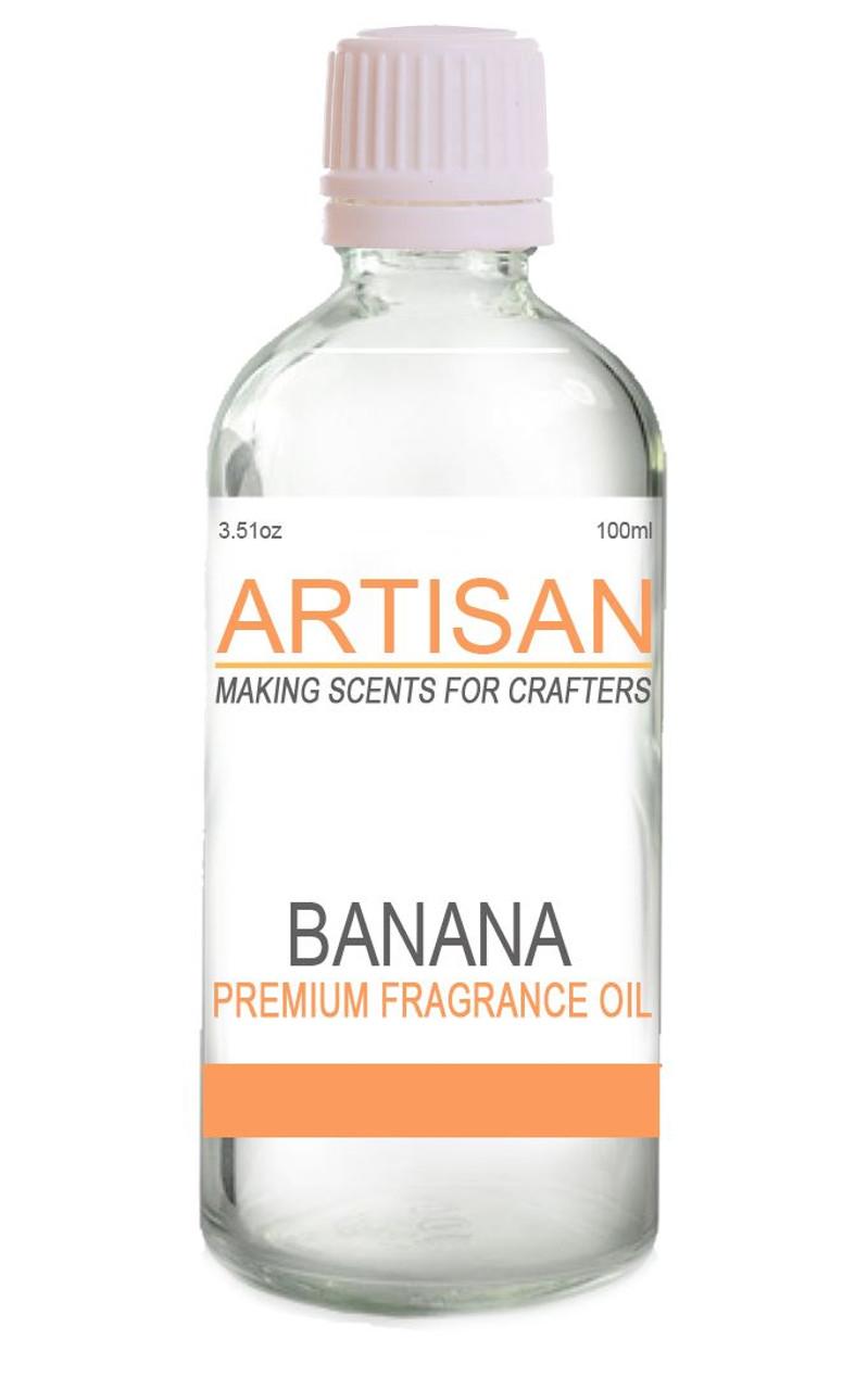 BANANA FRAGRANCE OIL for Candles, Melts, Home Fragrance & PotPourri