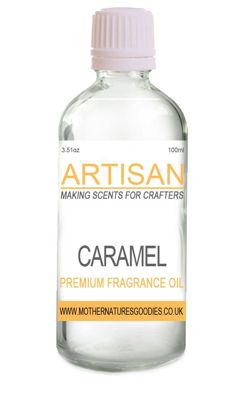 CARAMEL FRAGRANCE OIL for Candles, Melts, Home Fragrance & PotPourri