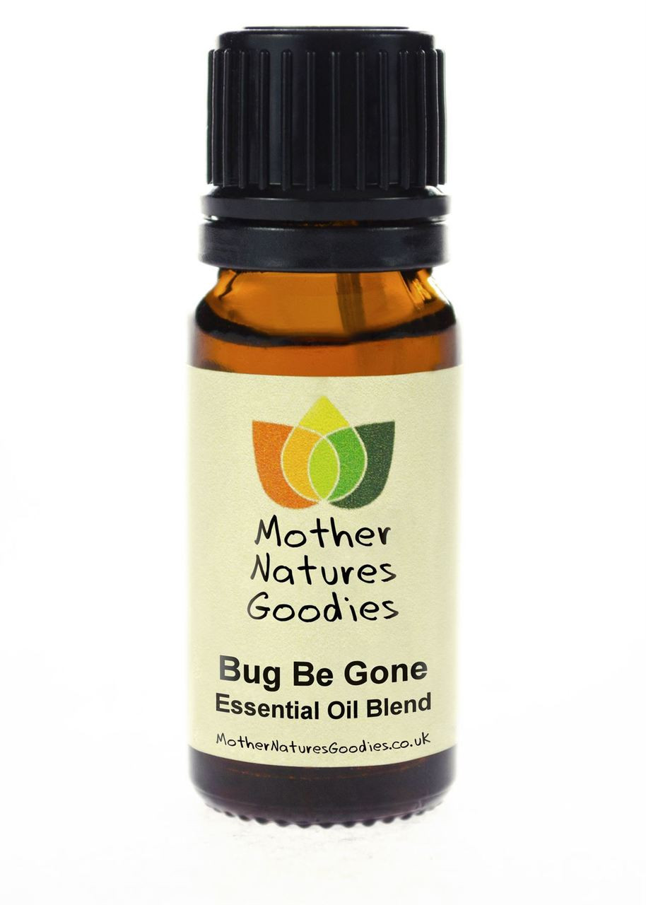 Bug Be Gone Essential Oil Blend. Pure Natural Aromatherapy