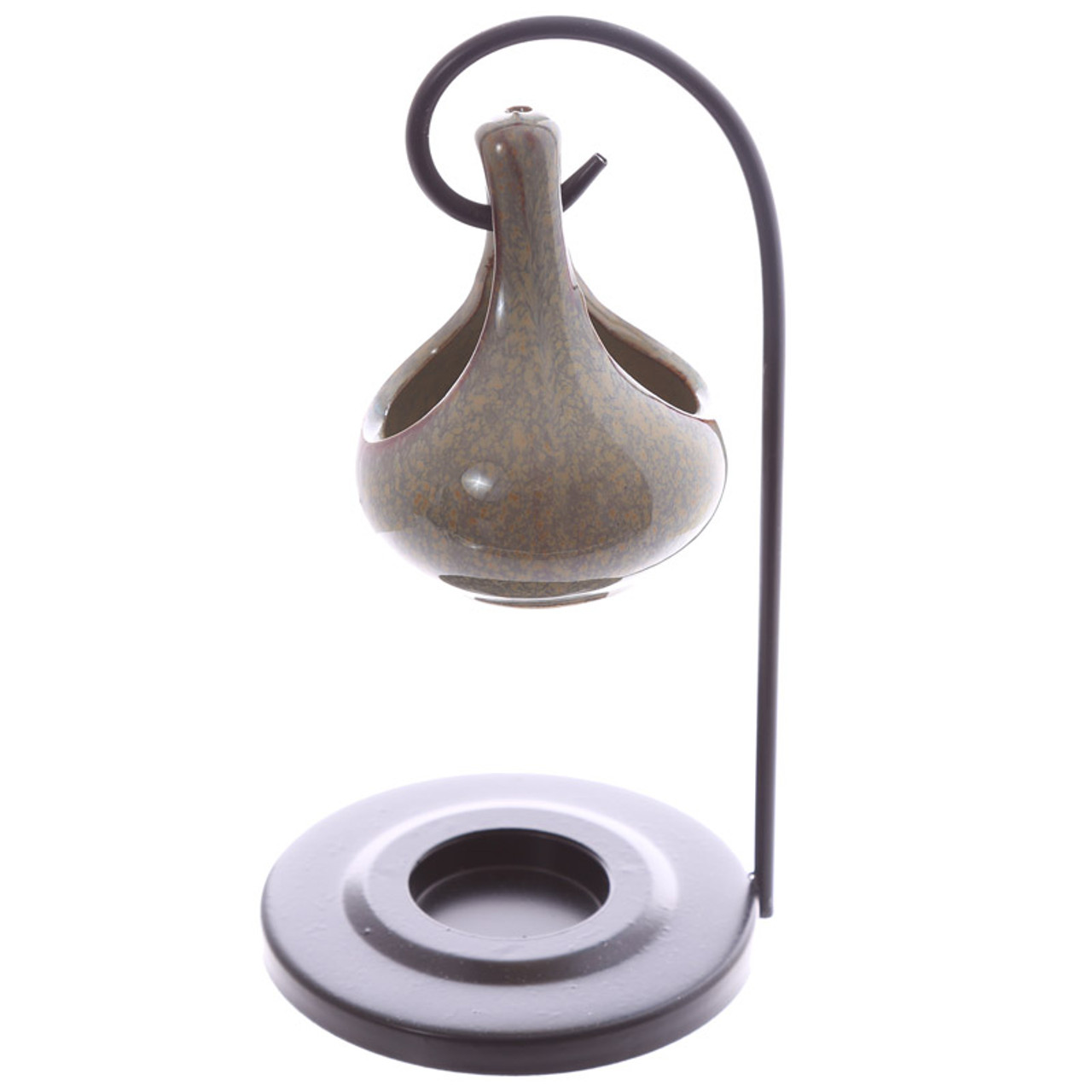 Teardrop Hanging Oil Burner With Stand