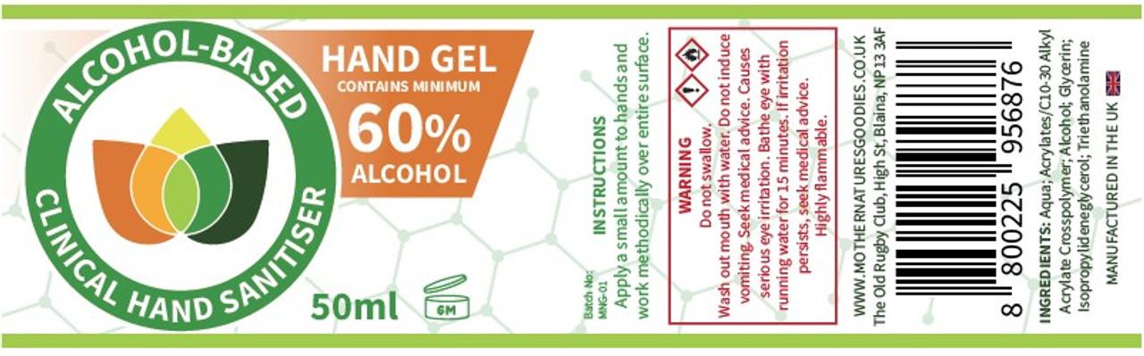 Hand Sanitiser Gel. Alcohol Based 3 Bottles Minimum 60%+ Alcohol Pump Spray