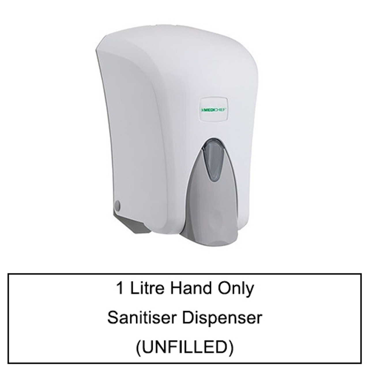 Hand & Elbow, Hand Only Manual Sanitiser Dispensers 300ml - 1 Litre (Unfilled)