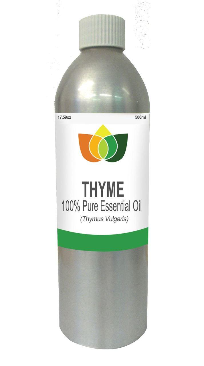 Thyme Essential oil Pure, Natural, Vegan Thymus Vulgaris