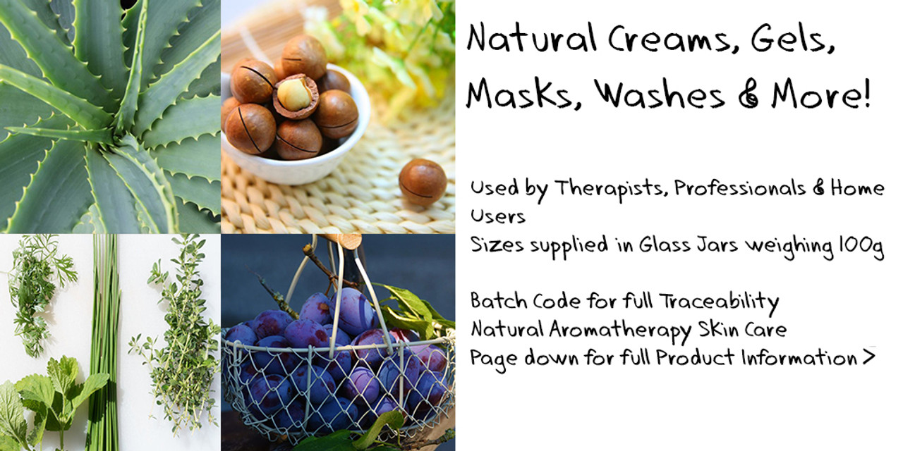 100ML Aromatherapy Creams and Gels - QUICK SHOP - Choose Variant